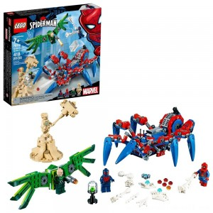 LEGO Super Heroes Marvel Spider-Man's Spider Crawler 76114 - Sale