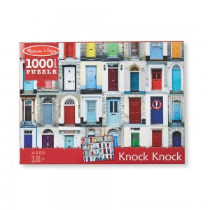 Melissa And Doug Knock Knock Doorways Puzzle 1000pc - Sale