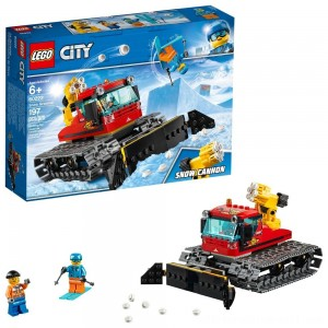 LEGO City Great Vehicles Snow Groomer 60222 - Sale