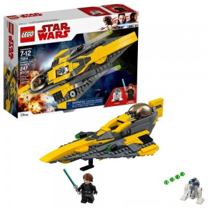 LEGO Star Wars Anakin's Jedi Starfighter 75214 - Sale