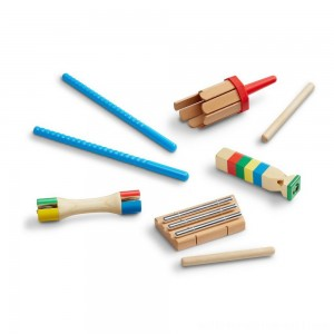 Melissa & Doug Band-in-a-Box Chime! Whistle! Jingle! - Sale