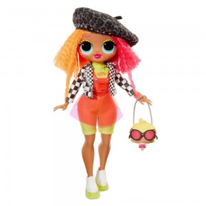 L.O.L. Surprise! O.M.G. Neonlicious Fashion Doll with 20 Surprises - Sale