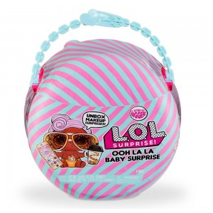 L.O.L. Surprise! Ooh La La Baby Surprise Lil D.J. with Purse & Makeup Surprises - Sale