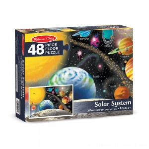 Melissa And Doug Solar System Floor Puzzle 48pc - Sale