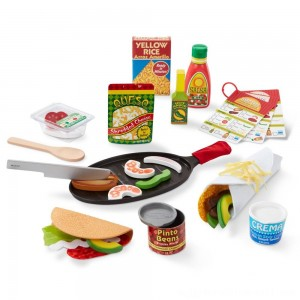 Melissa & Doug Taco and Tortilla Set 44pc - Sale