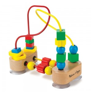 Melissa & Doug First Bead Maze - Wooden Educational Toy - Sale