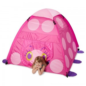 Melissa & Doug Sunny Patch Trixie Ladybug Camping Tent - Sale