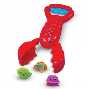 Melissa & Doug Sunny Patch Louie Lobster Claw Catcher - Grab-and-Squeeze Pool Toy - Sale