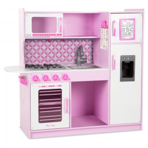 Melissa & Doug Chef's Kitchen Pretend Play Set - Cupcake Pink/White - Sale