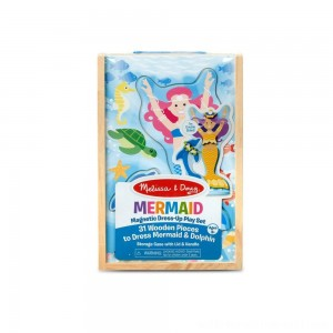 Melissa & Doug Mermaid Magnetic Dress-up - Sale