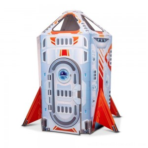 Melissa & Doug Rocket Ship Indoor Corrugate Playhouse - Sale