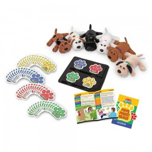 Melissa & Doug Puppy Pursuit Games - 6 Stuffed Dogs, 60 Cards - 10 Games With Variations - Sale